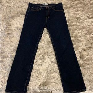 Dark Denim Jeans (Straight)